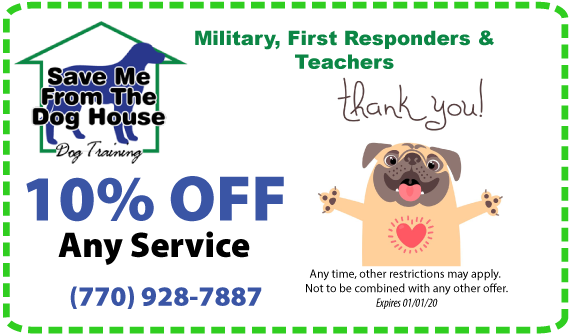 military discount dog